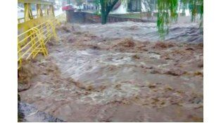 Buscan a cuatro desaparecidos luego del temporal en Córdoba