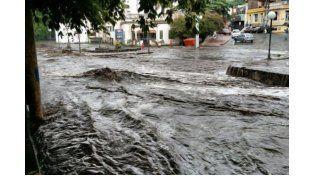 Buscan a una joven que desapareció tras el feroz temporal en Córdoba