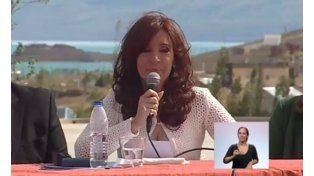 Cristina dijo en cadena nacional que aprendió en el sur a ser fuerte: esto no es para blandos