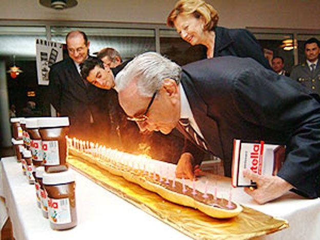 Murió el creador de Nutella, el huevo Kinder y Ferrero Rocher
