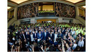 Scioli: Garantizamos el orden y la seguridad democrática