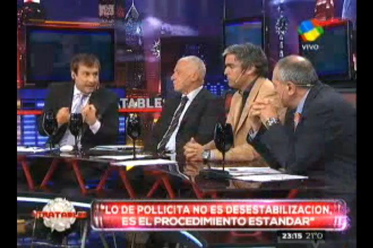 Vilouta y García se dijeron de todo y se metieron con cosas personales