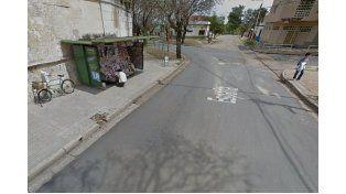 El lugar del hecho. (Foto: Google Street View)