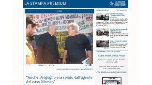 La Stampa versión digital