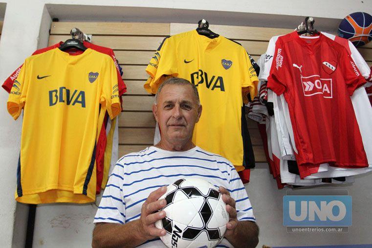 Marcelino Díaz es el director de la Escuela de Técnicos y como siempre tiene las mejores expectativas.  Foto UNO / Diego Arias
