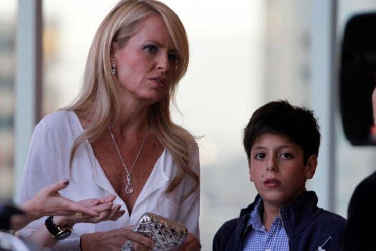 Afirman que el hijo de Cecilia Bolocco no es de Carlos Menem