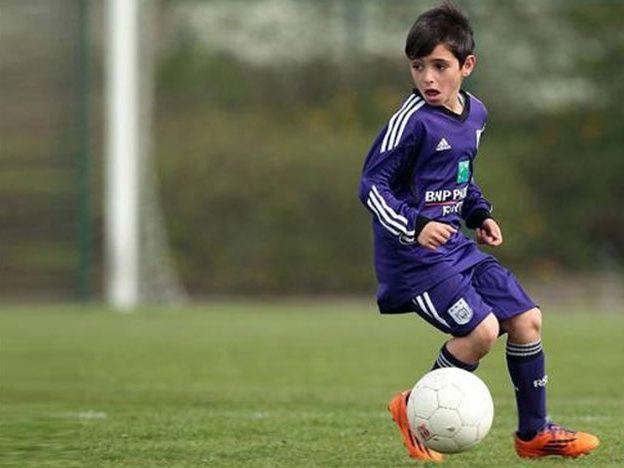 El futuro Messi de 9 años