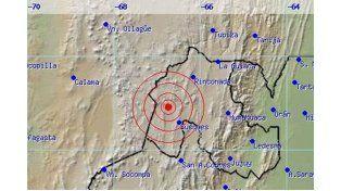 Se registró un sismo de 6.2 con epicentro en Jujuy