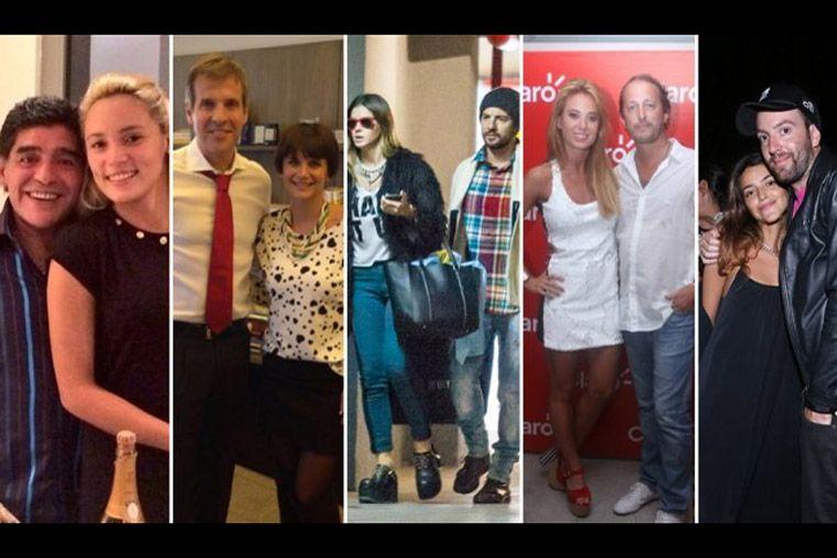 Las parejas de famosos argentinos más infieles son...