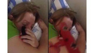 La mujer que ronca como avión y revoluciona YouTube