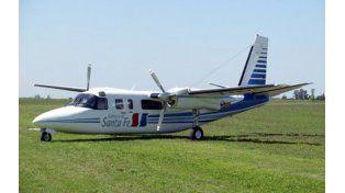 Despistó el avión que trasladaba a Antonio Bonfatti