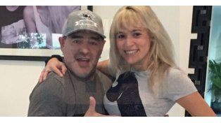 Maradona se hizo una refrescadita en el rostro para lucir joven junto a Rocío Oliva