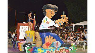 BUEN MARCO. Más de 8.000 personas disfrutaron de los corsos de Nogoyá