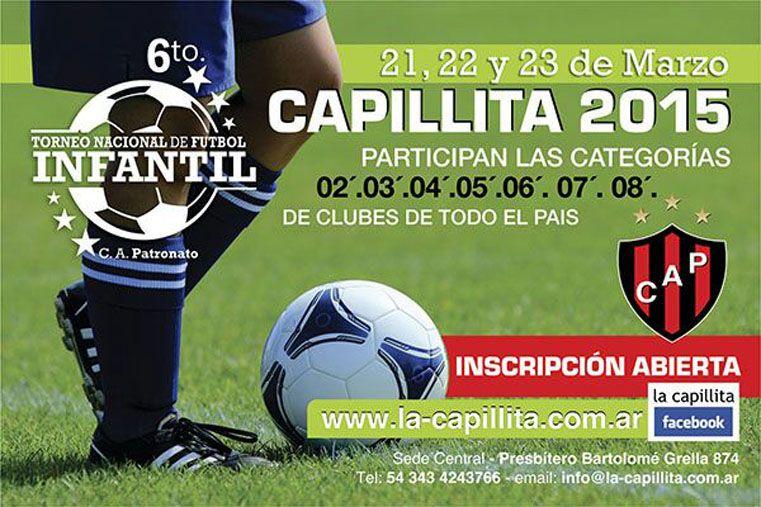 Nacional infantil Por sexto año consecutivo Patronato organiza el Torneo Nacional de Fútbol Infantil