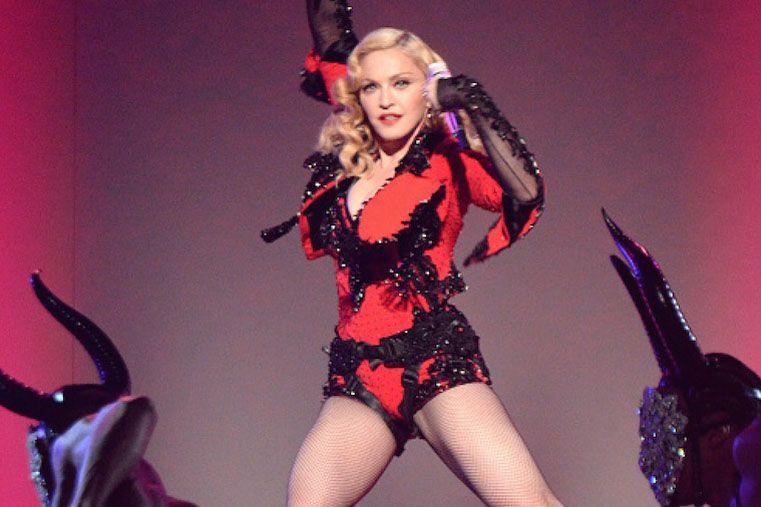 El look de Madonna en los Grammy