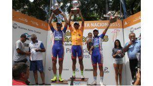 Ayer  fue el cierre y los ganadores festejaron en el podio. Foto Gentileza / Prensa Doble Bragado