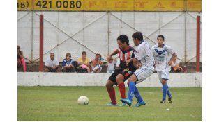 El partido no fue de los mejores para los de Concordia. Foto Gentileza / Prensa Libertad