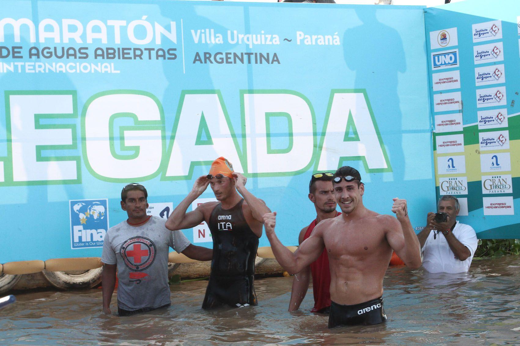 Los nadadores italianos