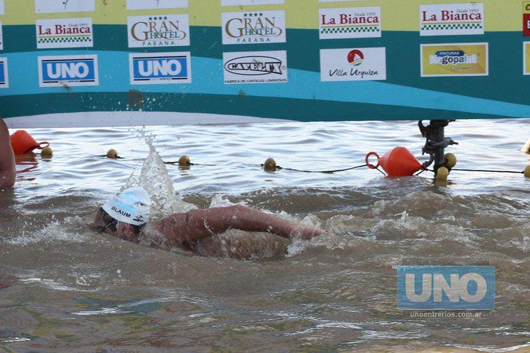 No se fue conforme. Blaum no se retiró del todo contento. La distancia le jugó una mala pasada. Igualmente volverá el año próximo.  Foto UNO/Diego Arias