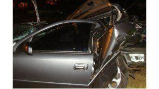 Concordia: Tres heridos tras un grave accidente en la Autovía 14