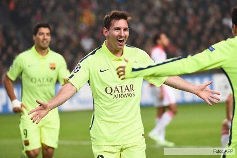Barcelona se impuso ante el Bilbao con dos goles de Messi y se acerca a la cima de la Liga<br>