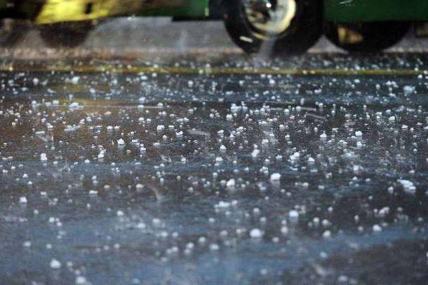 Rige un alerta meteorológico por tormentas fuertes y granizo en la provincia