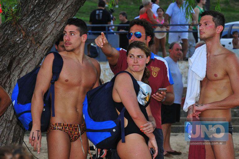 Los nadadores viene provenientes de varios países. Son 25 en total. Foto OVACIÓN / Juan Manuel Hernández