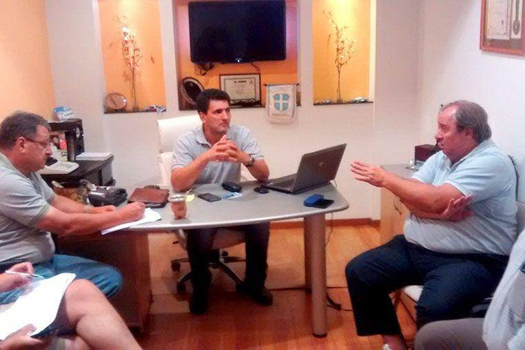 De los encuentros formaron parte los presidente de la APB y la ASF junto a Luis González