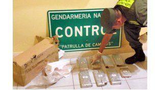 Viaje. La droga había sido despachada en Corrientes hacia Paraná.