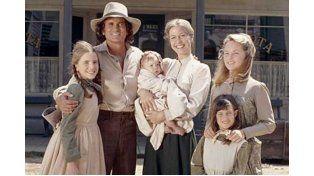 Los protagonistas de la serie de TV La Familia Ingalls
