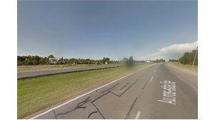 El lugar del accidente. (Foto: Google Street View)