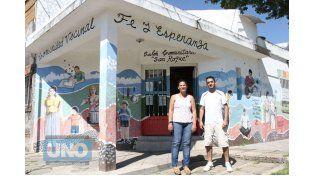 Iniciativa. Quieren sacar adelante el barrio donde pasaron su infancia. (Foto: UNO/Diego Arias)