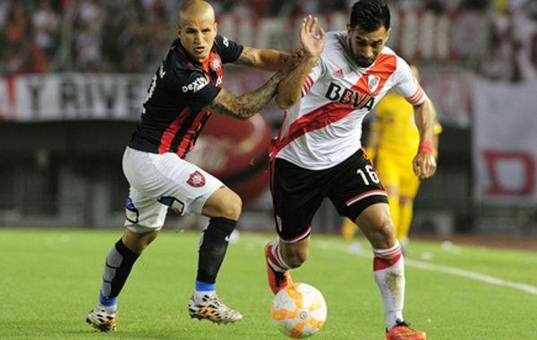 River fue más que San Lorenzo, pero solo ganó 1 a 0 en la Recopa Sudamericana