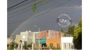 El arco iris desde Paraná