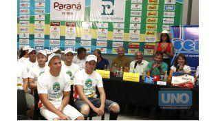 Rueda de prensa. Los organizadores y autoridades dieron detalles de la competencia que será el domingo desde las 14.30. Foto UNO/Diego Arias
