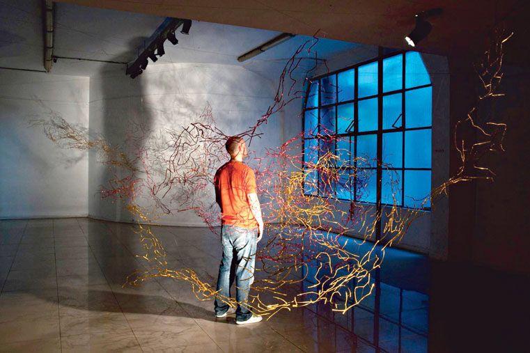 EL ARTISTA Y EL CAOS. Vezzosi y su obra en la Fundación Lebensohn de  Buenos Aires