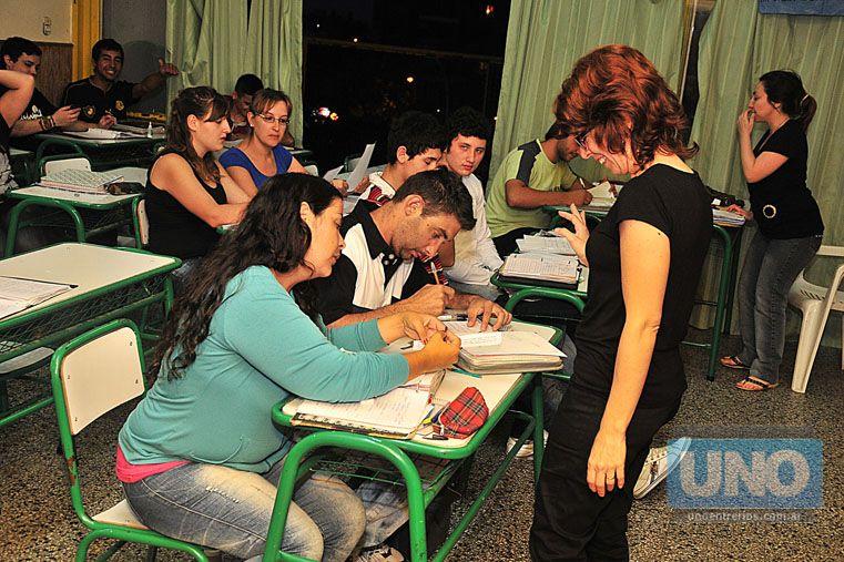 Repercusión. UNO reconoció en 2013 el trabajo de la escuela secundaria.  Foto UNO/Juan Manuel Hernández