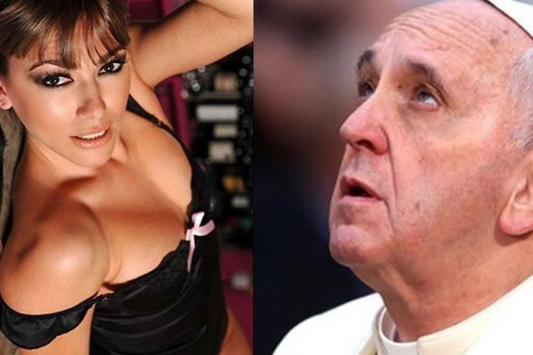 Coki Ramírez conoció al Papa Francisco y le pidió que le bendijera la garganta