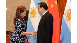 Al partir de China, Cristina elogió los acuerdos comerciales logrados por Entre Ríos