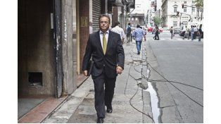 El abogado Blanco Bermúdez se presentó en la fiscalía de Fein para interiorizarse de la causa.