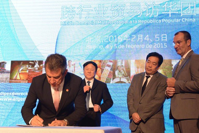 China inyectará inversiones millonarias en Entre Ríos
