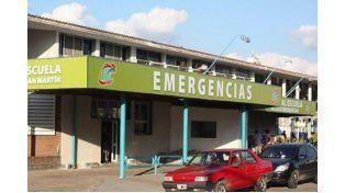 El herido se recupera en el hospital Escuela