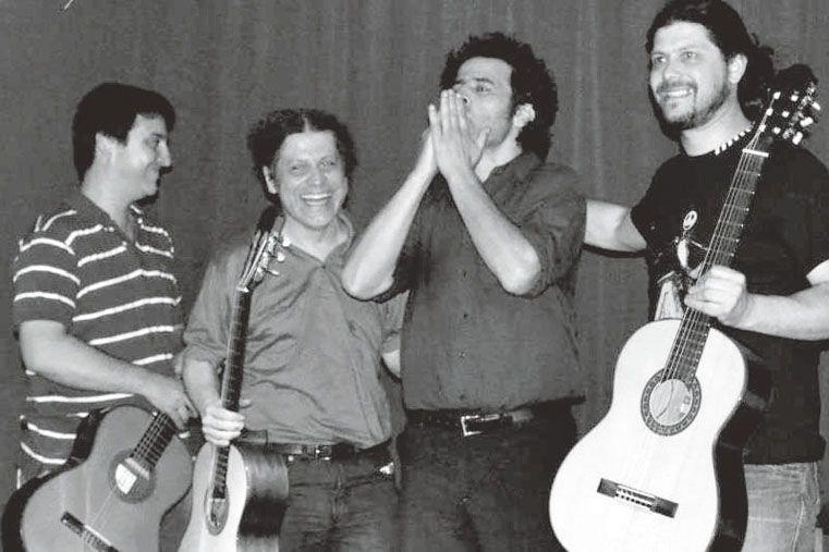 Cuarteto a puro tango. Gentileza/Facebook Cuarteto Furtivo