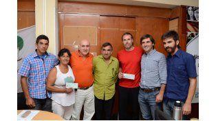 Emprendedores. La cooperativa de ladrilleros se formó el año pasado y la integran siete trabajadores.