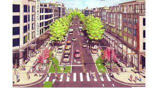 Ejemplo. Los peatones son los principales beneficiados