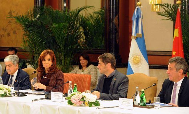 Cristina y Urribarri se reunieron con empresas chinas que invierten en Entre Ríos