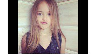 La niña más bella del mundo abandonó la escuela para dedicarse a las pasarelas