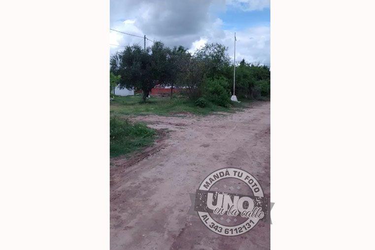 #UNOenLaCalle: Falencias en Bajada Grande