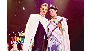 MONARCAS. El rey y la reina de la edición 2014.