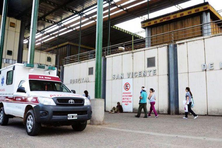 Dolor. El Hospital San Vicente de Paul donde fue trasladado Alan Mijael Villena para que le realicen la autopsia.